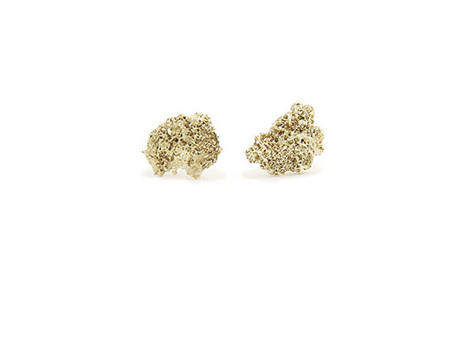 Gold Dust Earrings Collection Moss